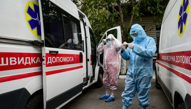 В Украине за сутки обнаружили 14 575 новых случаев коронавируса