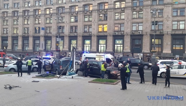 Смертельное ДТП в центре Киева: водителю сообщили о подозрении