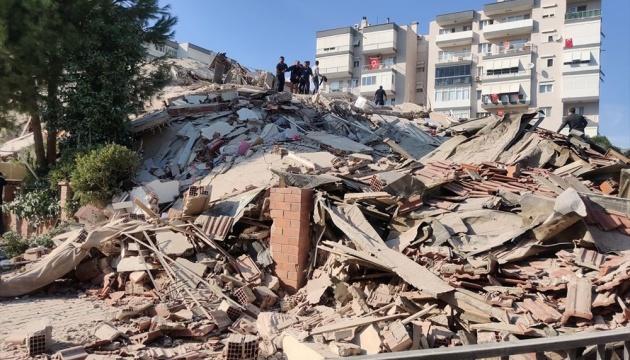 У Туреччині зросла кількість загиблих внаслідок землетрусу