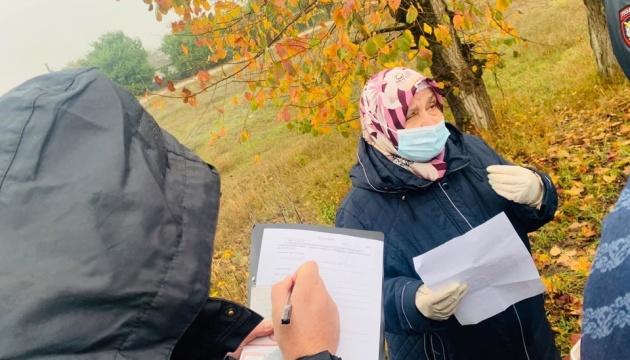 В Крыму матери и жены политзаключенных вышли на одиночные пикеты