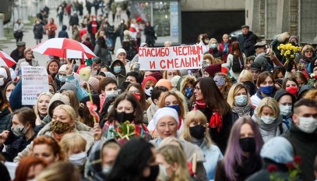 У Білорусі затримують учасників жіночої акції та маршу людей з інвалідністю