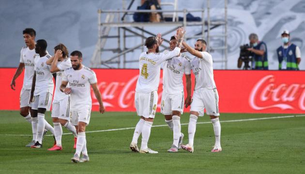 «Реал» вернулся на первое место в Ла Лиге