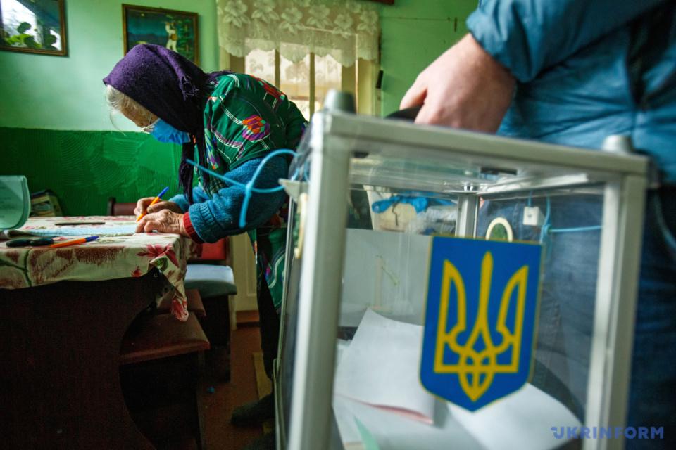 Місцеві вибори на Закарпатті / Фото: Сергій Гудак, Укрінформ