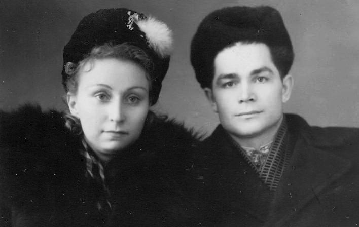 Подружжя Ліда і Василь Макухи
