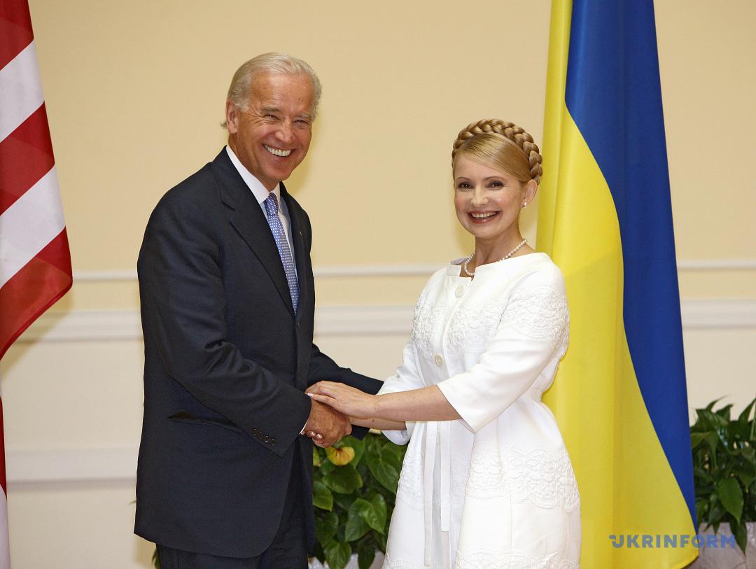 Під час зустрічі з Юлією Тимошенко 21 липня 2009 рокуя