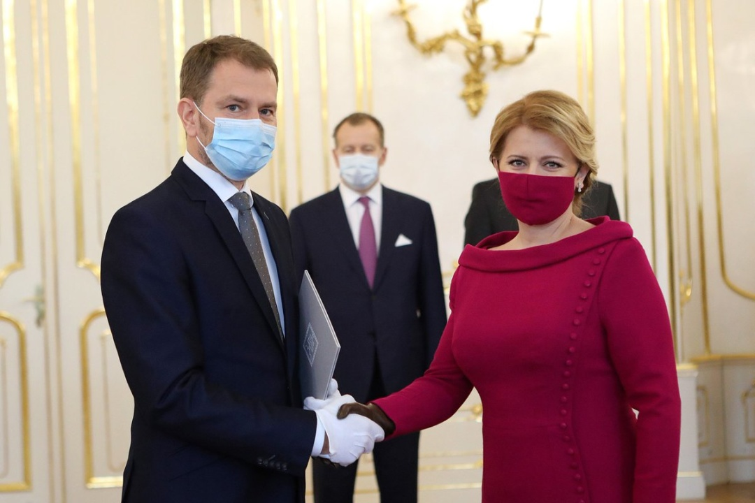 Ігор Матович та / Фото: Slovak President's Office