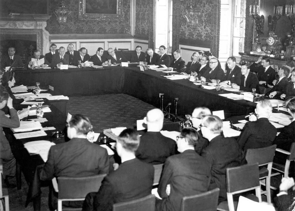 Підписання Статуту РЄ 5 травня 1949 року