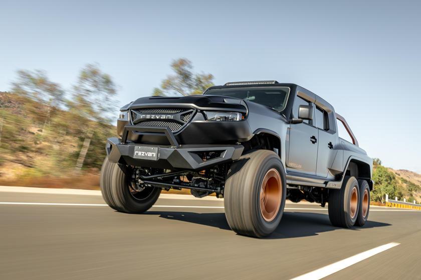 Четыре двигателя на выбор: в США представили сверхмощный джип