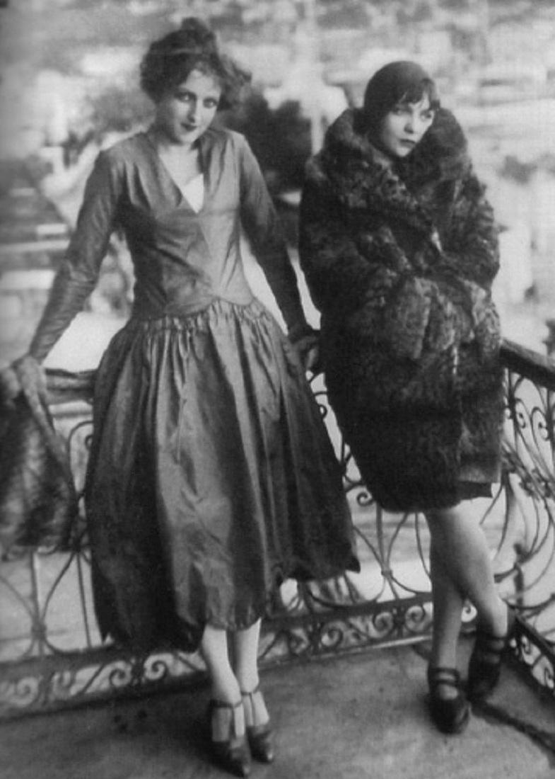 актрисы Анель Судакевич и Анна Стэн 1920-е г.г. А