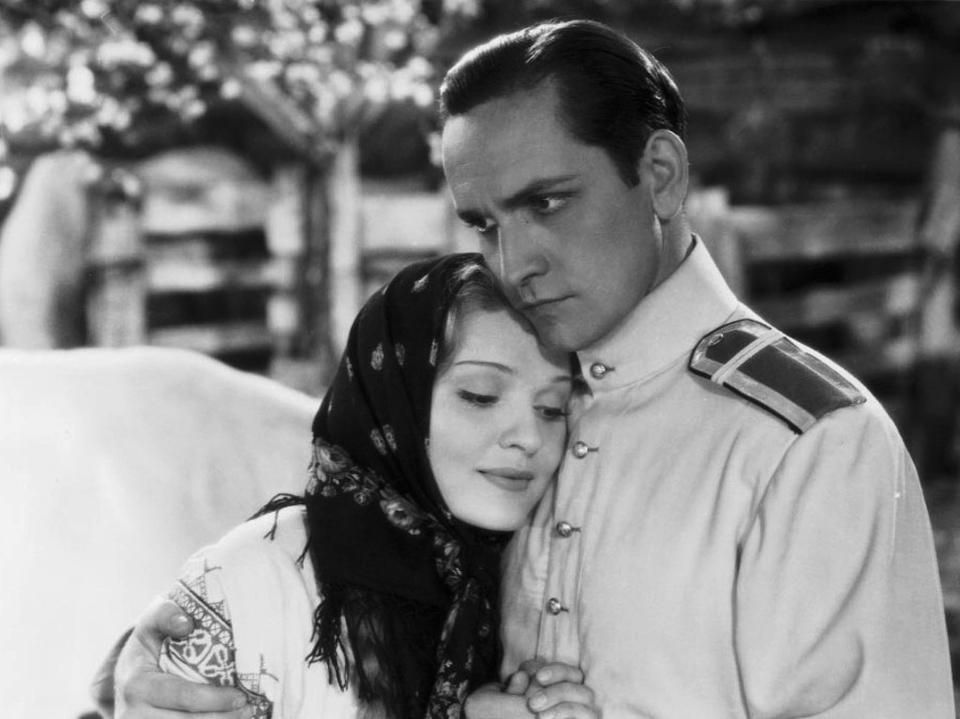 Фредрик Марч и Анна Стэн в фильме Мы снова живы, 1934 г. 2