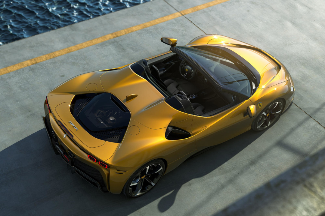 Ferrari представила мощный спорткар-гибрид