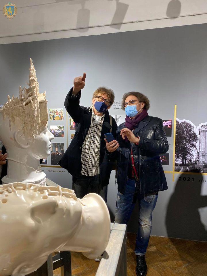 Во Львове открыли выставку для спасения костела XVIII века, где творил Пинзель