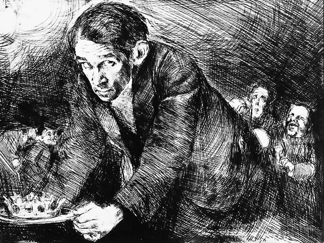 Автопортрет, 1920-1922 р.