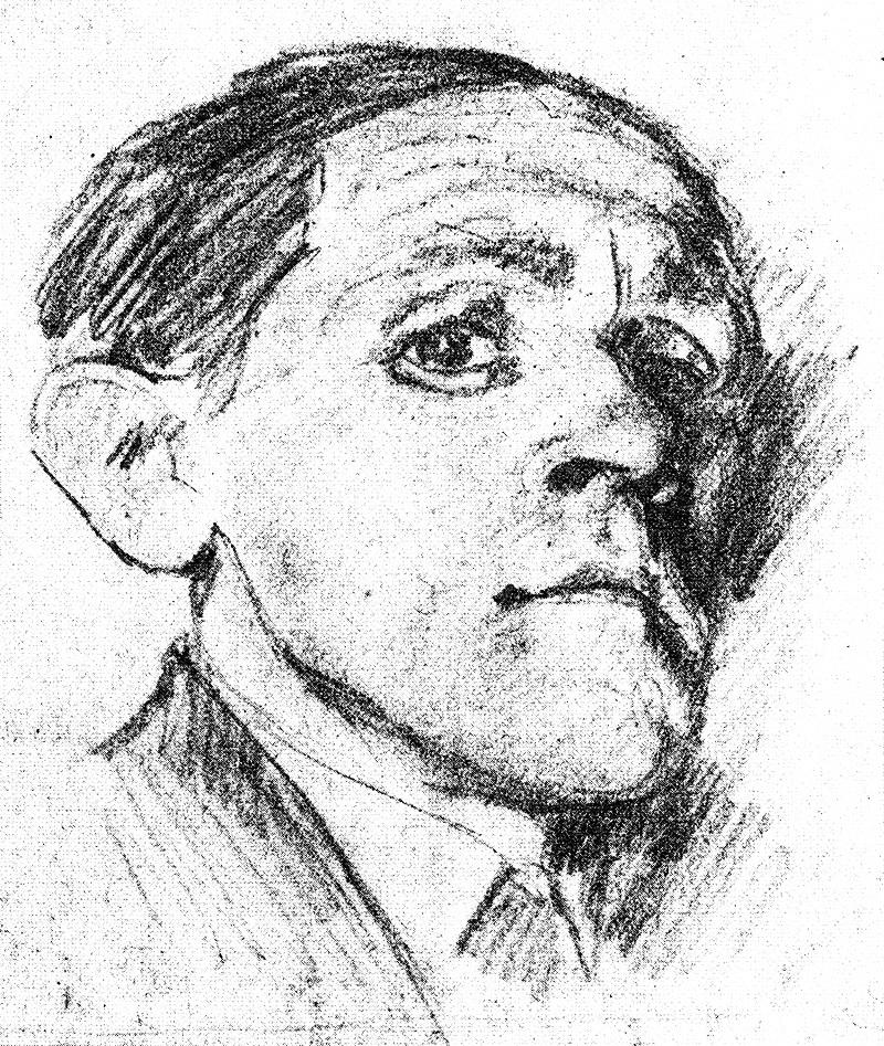 Бруно Шульц Автопортрет