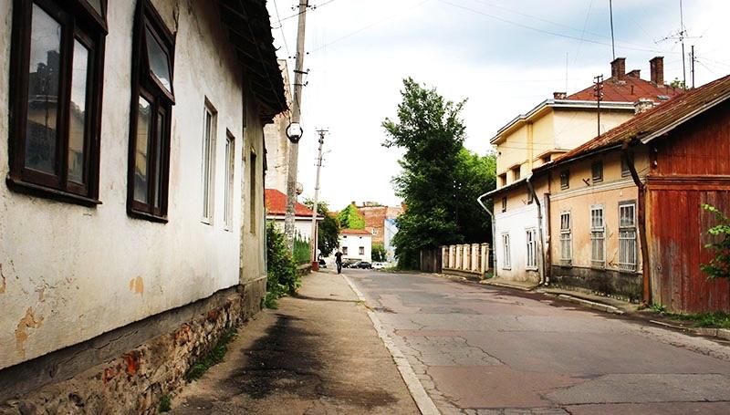 вул. Юрія Дрогобича (колись - Флоріанська), де у Дрогобичі після переїзду з Риночної площі жила сім'я Бруно Шульца