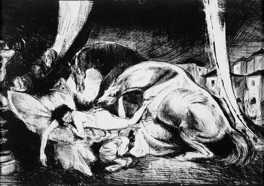 Жеребці та євнухи, 1920–1921 рр., кліше-верр 1