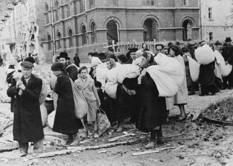 Дрогобич, депортація єврейського населення міста