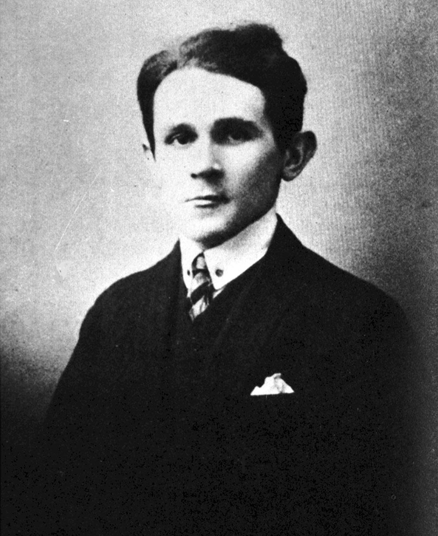 молодий Бруно Шульц