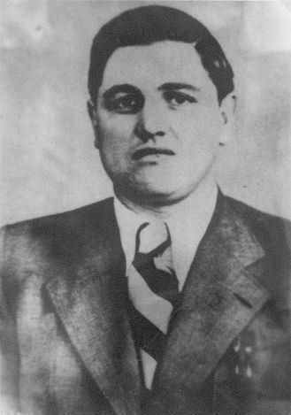 шеф дрогобицького гестапо, ґауптшарфюрер СС Фелікс Ландау