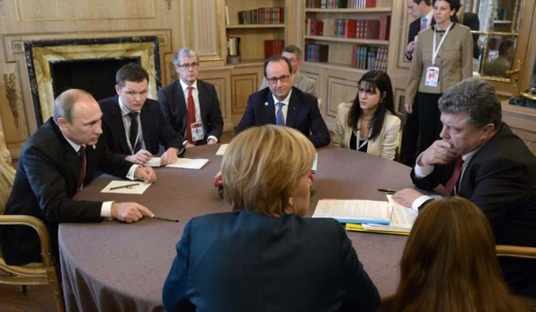 2015年2月、ミンスク方策パッケージ署名に向けた協議