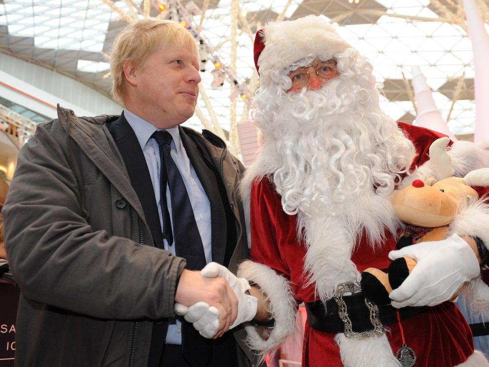 Борис Джонсон досяг угоди с Санта Клаусом