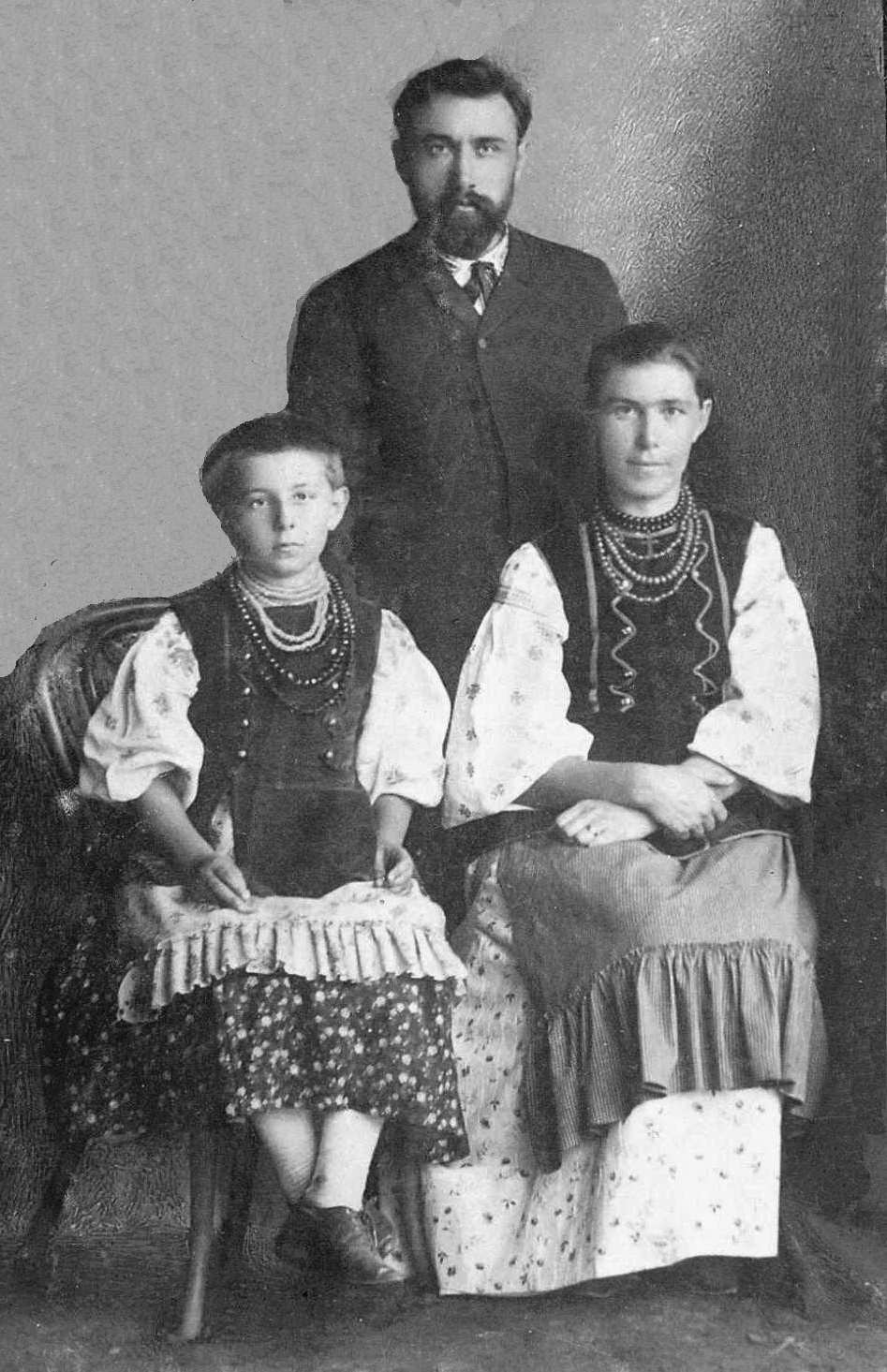 10-родина завідувачавідділом народної освіти Чернігівської губернії Бориса Дмитровича Грінченка, 1887 р.