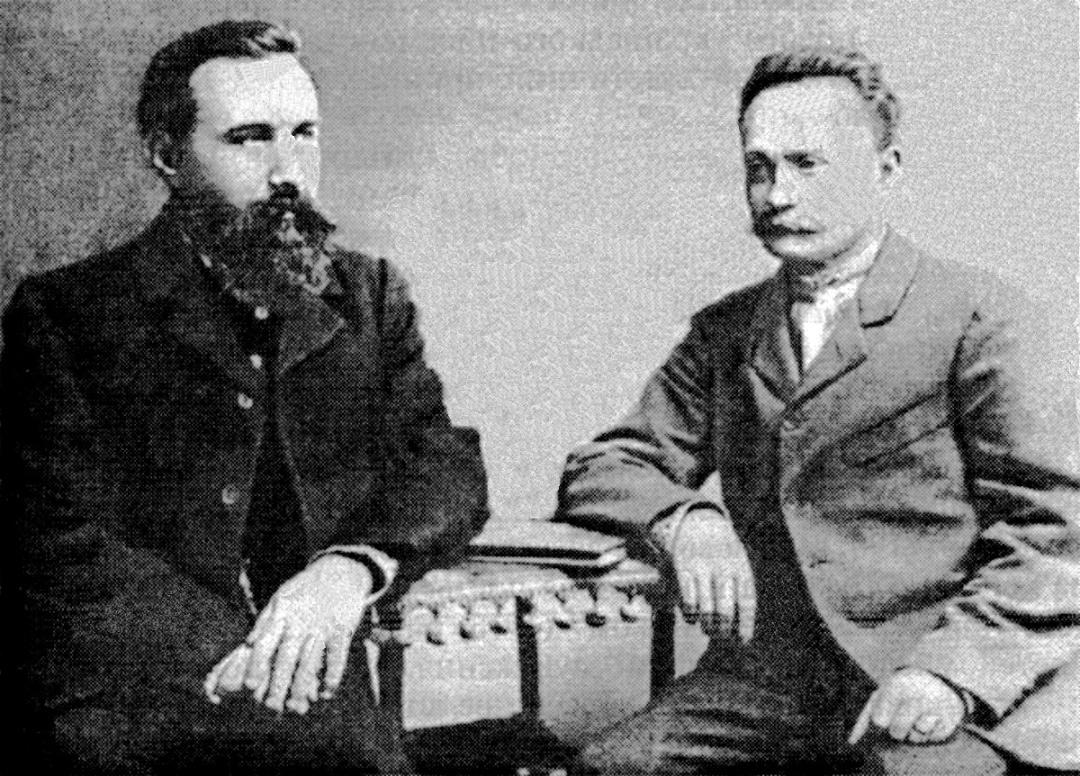 6-Борис Грінченко та Іван Франко, Львів, 1903 р.