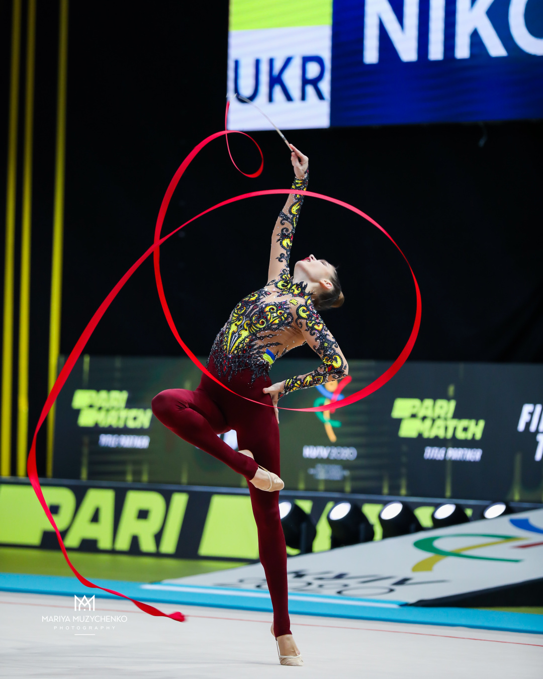 Збірна України з художньої гімнастики на Чемпіонаті Європи завоювала три золоті медалі