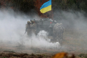 Invaders shell Ukrainian troops near Popasna and Katerynivka