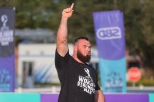 El ucraniano Oleksii Novikov gana el título del hombre más fuerte del mundo