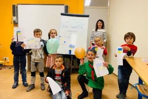 У Нідерландах покажуть виставку малюнків українських школярів про єдність і свободу