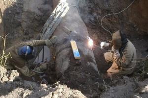 Прифронтовому Торецку вернули воду, аварию ликвидировали