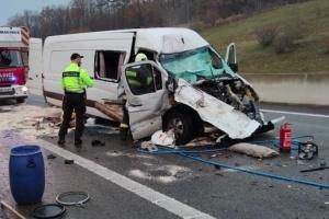 В Словакии разбился автобус с украинцами