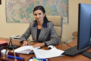 Оксана Колтик, директор Департаменту внутрішнього фінансового контролю та аудиту КМДА