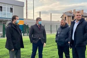 У Вінниці завершують зведення першої черги спортбази гуманітарного коледжу