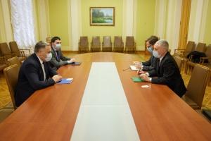 Замглавы ОП и посол Литвы обсудили подготовку очередного заседания Совета Президентов
