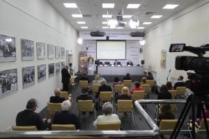 В Укринформе - фотовыставка к 100-летию трагедии любви одной немецко-украинской семьи