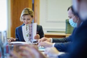 Olena Zelenska: Se ha firmado un memorando sobre arquitectura sin barreras