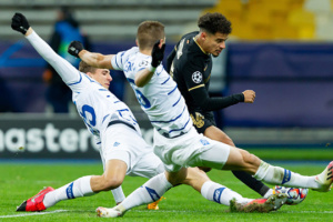 Dynamo Kyiv lose to Barcelona in Champions League