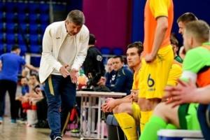 Косенко назвал состав сборной Украины по футзалу на матчи с Молдовой