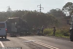 У Бразилії зіткнулися автобус і вантажівка, понад 30 загиблих