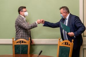 Кулеба представил нового директора Дипломатической академии при МИД