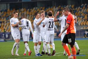 «Шахтер» уступил «Боруссии» в матче Лиги чемпионов УЕФА