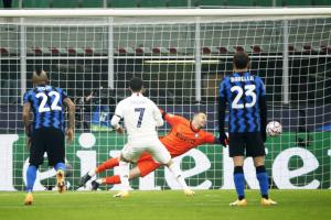 «Интер» в меньшинстве проиграл «Реалу» домашний матче Лиги чемпионов УЕФА