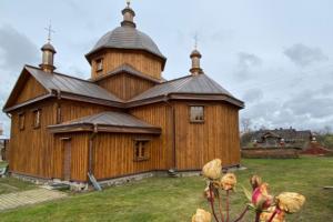 В Моринцах отреставрировали деревянный храм XVIII века