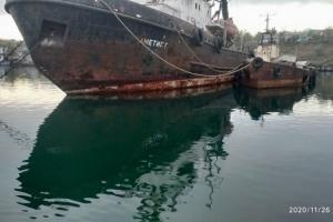 Аварию судна «Аметист» и разлив нефти в Черноморске опровергли в АМПУ