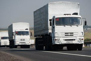 Росія відправила на окупований Донбас вже сотий «гумконвой»