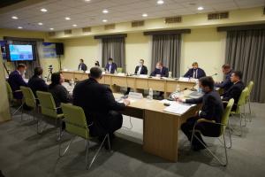 Зеленський узяв участь в обговоренні перспектив розвитку Кривого Рогу
