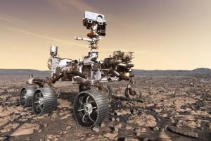 Марсоход обнаружил загадочные горные породы на дне кратера