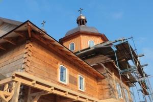 На Львівщині відновили храм лемківського стилю з унікальним іконостасом